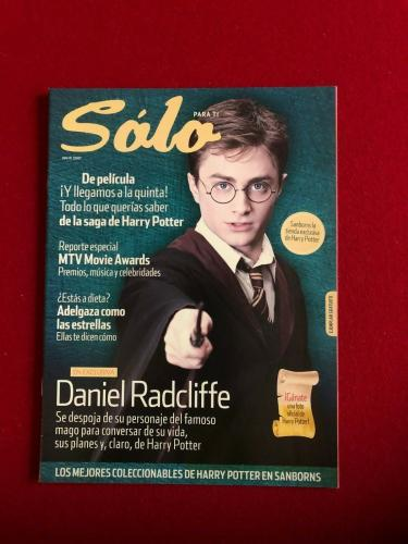 "2007, Harry Potter, ""Solo"" Magazine (No Label) Scarce / Vintage"