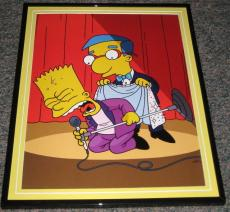 2007 The Simpsons Bart Simpson as Elvis Framed 10x13 Poster Photo