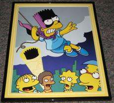 2007 The Simpsons Bartman Framed 10x13 Poster Photo