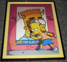 2007 The Simpsons El Barto Graffiti Framed 10x13 Poster Photo