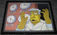 2007 The Simpsons Kent Brockman Framed 10x13 Poster Photo