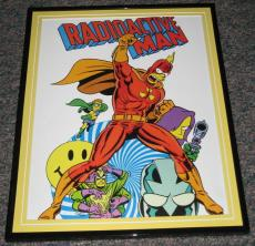 2007 The Simpsons Radioactive Man Framed 10x13 Poster Photo