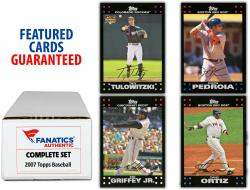 2007 Topps Baseball Complete Set of 661 Cards