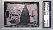 2007 Topps Star Wars James Earl Jones Darth Vader P1 Signed Auto Card PSA/DNA A