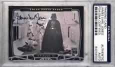 2007 Topps Star Wars James Earl Jones Darth Vader P1 Signed Auto Card PSA/DNA B