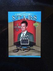 2007 Upper Deck Spectrum Spectrum Of Stars Signatures #jd Josh Duhamel-ssp