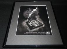 2007 Zakk Wylde Guitar Strings Framed 11x14 ORIGINAL Vintage Advertisement