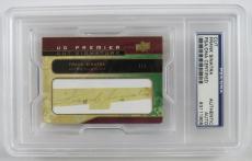 2008 UD Premier Stitchings Frank Sinatra Signed Auto Autograph Cut Signature #1/