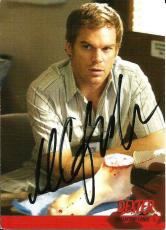 2009 Dexter 1st First Season Michel C Hall Signed Card JSA DNA COA