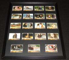 2009 Twilight New Moon Framed 16x20 Card Set Display NECA