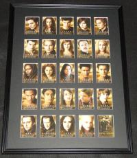 2009 Twilight New Moon Framed 18x24 Card Set Display