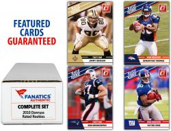 2010 Panini Donruss Rookies 100 Card Set with 1 Autographed Card - Mounted Memories - Mounted Memories