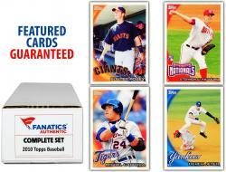 2010 Topps All-Star Baseball Complete Set of 661 Cards - Mounted Memories