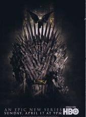 2011 Game of Thrones Premiere ORIGINAL Vintage Advertising Brochure HBO