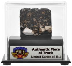 2011 Indianapolis 500 Track Display Case-Limited Edition of 1911 - Mounted Memories