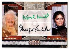 2011 Panini Lois Lane Noel Neill & Margot Kidder Autographed-signed Card #9/49