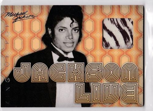 2011 Panini Michael Jackson King Of Pop Live Worn Used 1971 Boyd Clapton Sp Jl2