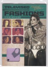 2011 Panini Michael Jackson Televised Fashions Worn Diana 1971 Shirt Sp Tv1