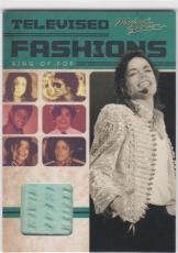 2011 Panini Michael Jackson Televised Fashions Worn Diana 1971 Shirt Sp Tv4