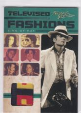 2011 Panini Michael Jackson Televised Fashions Worn Hellzapoppin 1972 Shirt Tv2
