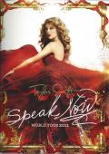 2011 Taylor Swift Speak Now Tour Book Concert Program Poster Inside New
