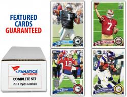 2011 Topps Football Complete Set of 440 Cards - Mounted Memories
