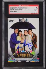 2011 Topps Jason Alexander Signed Card #162 Seinfeld Autograph Card SGC Auth