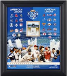 "2012 All-Star Game Framed 15"" x17"" Collage with Game-Used Base - Limited Edition of 250"
