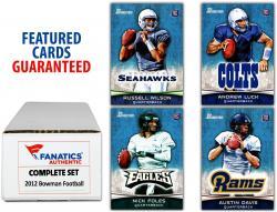 2012 Bowman Football Complete 200 Card Set