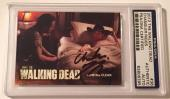 2012 The Walking Dead Chandler Riggs Carl Signed Auto Card PSA/DNA Slabbed #36