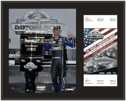 Jimmie Johnson 2013 Daytona 500  12 x 15 Champion Plaque