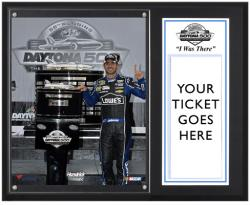 Jimmie Johnson 2013 Daytona 500 I Was There 12 x 15 Plaque