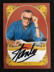 "2013 Panini Golden Age Autograph Auto Signature "" On Card "" Stan Lee Historic"
