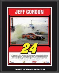 Jeff Gordon 2014 AAA 400 at Dover International Speedway Race Winner Sublimated 10.5'' x 13'' Plaque