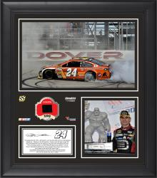 Jeff Gordon 2014 AAA 400 at Dover International Speedway Race Winner Framed 15'' x 17'' Collage With Race-Used Tire-Limited Edition of 500