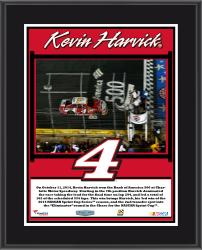 Kevin Harvick 2014 Bank of America 500 Charlotte Motor Speedway Race Winner Sublimated 10.5'' x 13'' Plaque