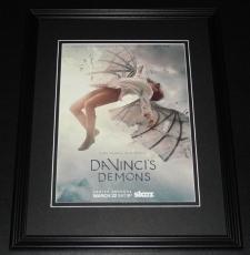 2014 Da Vinci's Demons 11x14 Framed ORIGINAL Vintage Advertisement