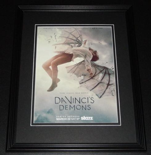 2014 Da Vinci's Demons 11x14 Framed ORIGINAL Vintage Advertisement