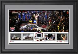 Dale Earnhardt Jr. 2014 Daytona 500 Champion Framed Panoramic -Limited Edition of 500 - Mounted Memories