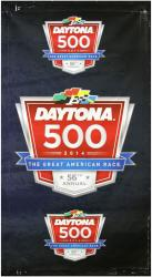 2014 Daytona 500 Driver's Meeting 106'' x 60'' Logos #9 Banner - Mounted Memories