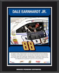 Dale Earnhardt Jr. 2014 Gobowling.com 400 at Pocono Raceway Race Winner Sublimated 10.5'' x 13'' Plaque