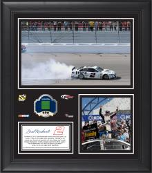 Brad Keselowski 2014 Kobalt Tools 400 at Las Vegas Motor Speedway Race Winner Framed 15'' x 17'' Collage With Race-Used Flag-Limited Edition of 500 - Mounted Memories