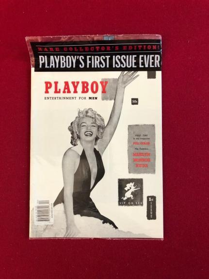 "2014, Marilyn Monroe, ""PLAYBOY"" (1st Issue 1953 Reprint) Still Sealed!! (Scarce)"