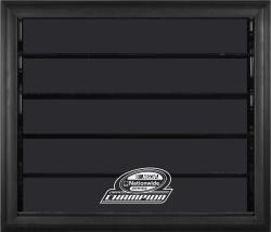 2014 NASCAR Nationwide Champion 10 Car 1/24 Scale Die-Cast Display Case With Black Frame