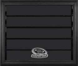2014 NASCAR Sprint Cup Champion 10 Car 1/24 Scale Die-Cast Display Case With Black Frame