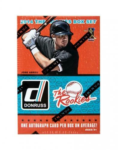 2014 Panini Donruss The Rookies Baseball Factory DeGrom Betts Springer Set Box