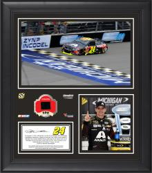 "Jeff Gordon 2014 Pure Michigan At Michigan International Speedway Race Winner Framed 15""x17"" Collage With Race-Used Tire- Limited Edition of 500"