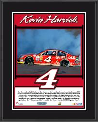 "Kevin Harvick 2014 Quicken Loans 500 at Phoenix International Raceway Race Winner Sublimated 10.5"" x 13"" Plaque"