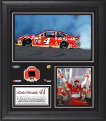 "Kevin Harvick 2014 Quicken Loans 500 at Phoenix International Raceway Race Winner Framed 15""x17"" Collage With Tire - Limited Edition of 500"