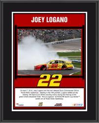 "Joey Logano 2014 Duck Commander 500 at Texas Motor Speedway Race Winner Sublimated 10.5"" x 13"" Plaque"